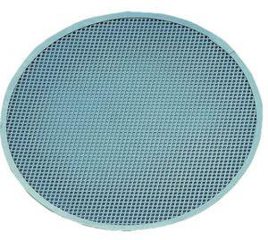 AV4953 Retina tonda acciaio inox professionale da forno per pizza Ø45cm