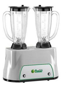 FR2150P Frullatore doppio 350+350W bicchieri lexan 1,5+1,5 litri