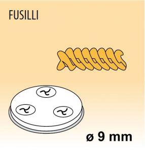MPFTFU4 Trafila FUSILLI per macchina per pasta fresca