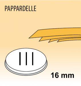 MPFTPA15 Trafila PAPPARDELLE per macchina per pasta fresca