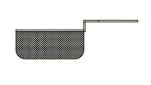 SF20MCEST1 Cestello mezzocesto per friggitrice