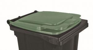 T910133 Coperchio Verde per contenitore rifiuti esterni 120 litri
