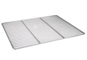 GR6040 - Griglia professionale 60x40 cm in acciaio inox certificata MOCA