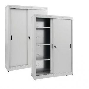 IN-Z.690.14.60 Armadio Portaoggetti con Ante Scorrevoli zinco plastificato 140x60x180 H