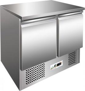 G-SS45BT - Saladette refrigerata, temp. -12°-18°C,  telaio inox AISI304