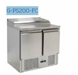 G-PS200-FC Refrigerated saladette - Temperature + 2 ° / + 8 ° C - Capacity 240 liters