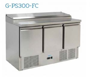 G-PS300-FC Refrigerated saladette - Temperature + 2 ° / + 8 ° C - Capacity 392 liters