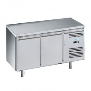G-SNACK2100TN-FC Ventilated Refrigerated Table 2 Doors - Temp -2 ° + 8 ° C - Capacity Lt 159