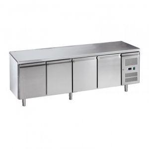 G-SNACK4100TN-FC Ventilated Fridge Counter 4 Doors - Temp -2 ° + 8 ° C - Capacity Lt 342