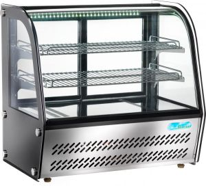G-VPR100 Refrigerated display cabinet for glass countertop - 100 liters capacity 160 W