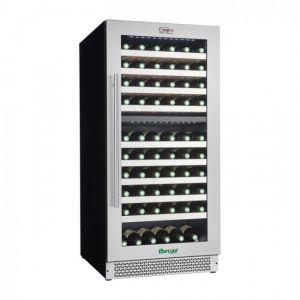 VI120D Wine cellar for Ventilated Wines ENOLO - Double Temperature - Capacity Lt 261