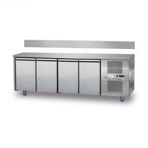 FTR4TN - Tavolo Refrigerato Ventilato 4 porte - 0/+10° - SENZA ALZATINA