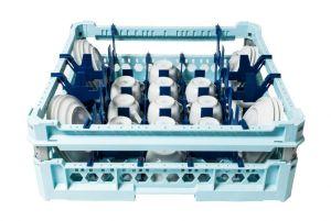 GEN-100160 Cesta speciale per il lavaggio di 17 tazze e piattini da caffè