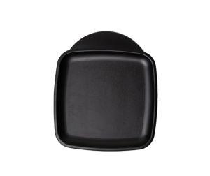 GEN-101001 Vassoio in polipropilene - Collezione Designer - Mini quadrato - Misure esterne 28x24 cm