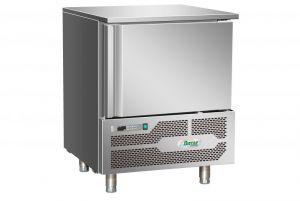 G-AB1805 Abbattitore di temperatura surgelatore 5 teglie in acciaio inox Aisi 304