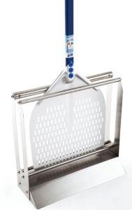 AC-APT36 Porta pala da pavimento in acciaio inox per pale fino a 36 cm