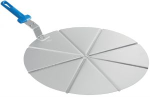 AC-PCPT45 Vassoio alluminio 8 spicchi ø 45 cm, manico non ricambiabile