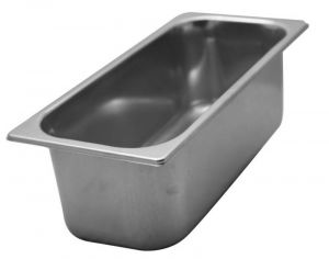 Ice cream bowl in stainless steel  PROMOTION 360x165x h120 mm