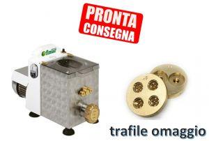 MPF15N-TRAF2 Macchina pasta fresca Monofase vasca 1,5 kg + 2 Trafile OMAGGIO