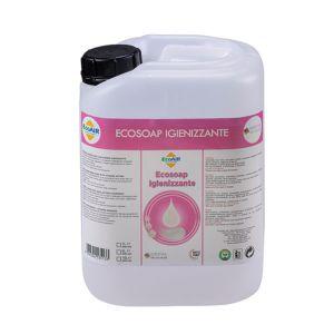 T85000130 Sapone liquido igienizzante mani (Limone – 5 L) Ecosoap