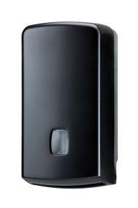 T104256 Distributore carta igienica interfogliata/rotolo 500 fogli ABS nero