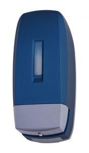 T104340 Distributore di sapone liquido ABS blu soft-touch 0,5 litri