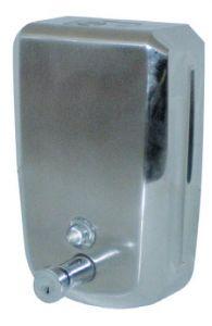 T105032 Distributore di sapone liquido acciaio inox AISI 304 push 1,2 litri