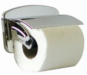 T105041 Portarotolo carta igienica acciaio inox AISI 304 brillante