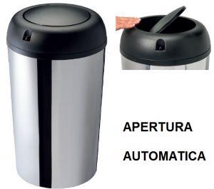 T109550 Gettacarte basculante ad apertura automatica sensore termico 50 litri