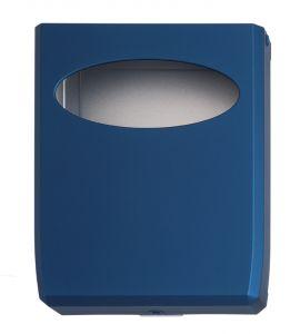 T130013 Distributore di carta copriwater ABS blu soft-touch