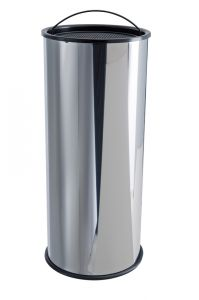 T775000 Portacenere a colonna acciaio inox con sabbia