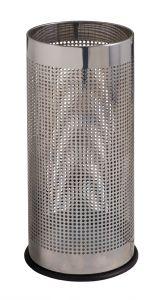 T775110 Portaombrelli perforato in acciaio inox