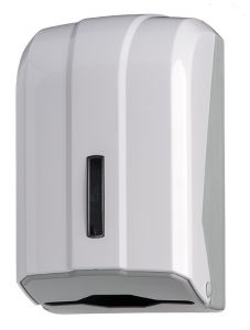 T908025 Interfold toilet tissue dispenser White ABS