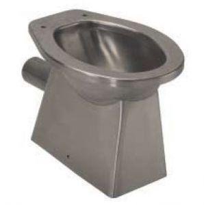 LX3000 stainless steel toilet fairing floor drain 520x365x375 mm - SATIN -
