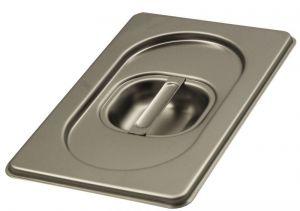 CPR1/9 Coperchio 1/9 in acciaio inox AISI 304