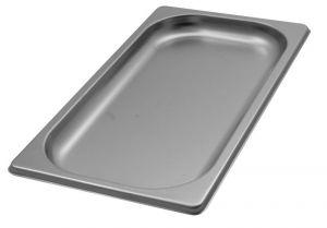 GST1/3P020 Contenitore Gastronorm 1/3 h20 in acciaio inox AISI 304