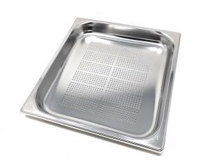 GST2/3P040F Contenitore Gastronorm 2/3 h40 forato in acciaio inox AISI 304