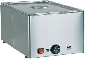 BM11 Tavola calda banco acciaio inox 1x1/1GN 54x33x22h
