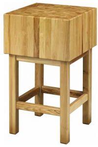 CCL3577 Ceppo legno 35cm con sgabello 70x70x90h