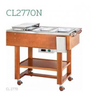 CL2770N Roast and boiled meat trolley 3x1/1GN 123x65x95h