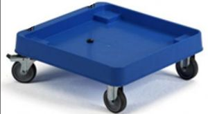 CP1448 Support base on wheels for dishwasher baskets ABS base