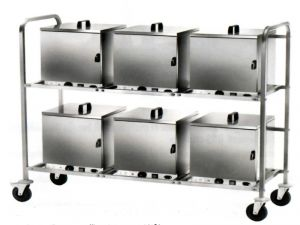 CPC600 Trolley with socket for thermal boxes