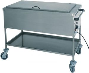 CS1751 Stainless steel thermal bain-marie bottle warmer with cover 56x65x85h