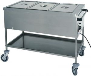 CT1756 Thermal bainmarie trolley GN 1x1/1 56x65x85h