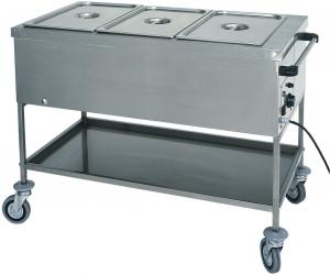 CT1758TD Bain-marie trolley Different temperatures 2x1/1GN 84x65x85h
