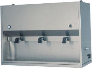 DC1703 Distributore colazioni da appoggio inox 3 recipienti 15 litri 106x41x71h
